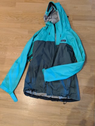 Patagonia Rain Jacket Outdoor gear to pack for New Zealand