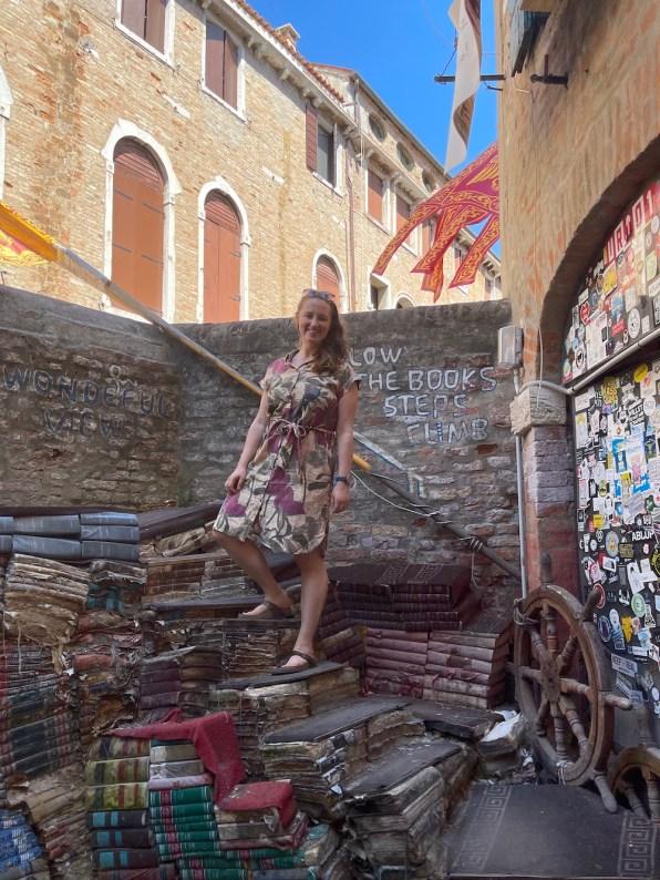 Venice bookshop Libreria Acqua Alta