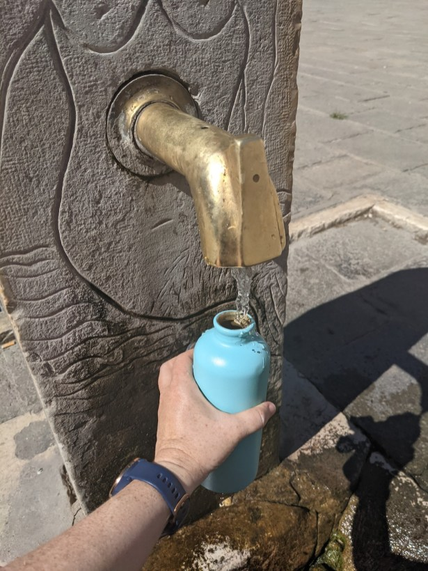 sustainable water in Venice