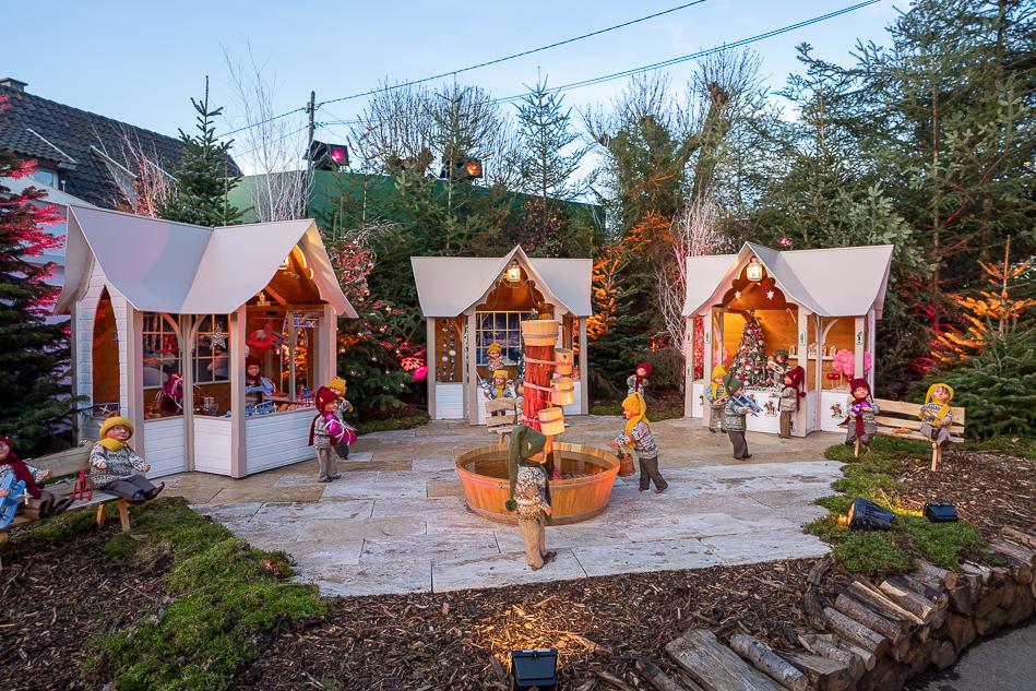 Pfastatt Christmas maret holiday decorations