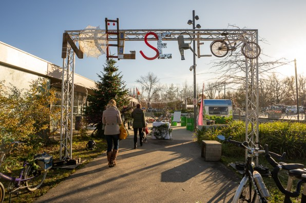 Kingersheim eco Christmas market