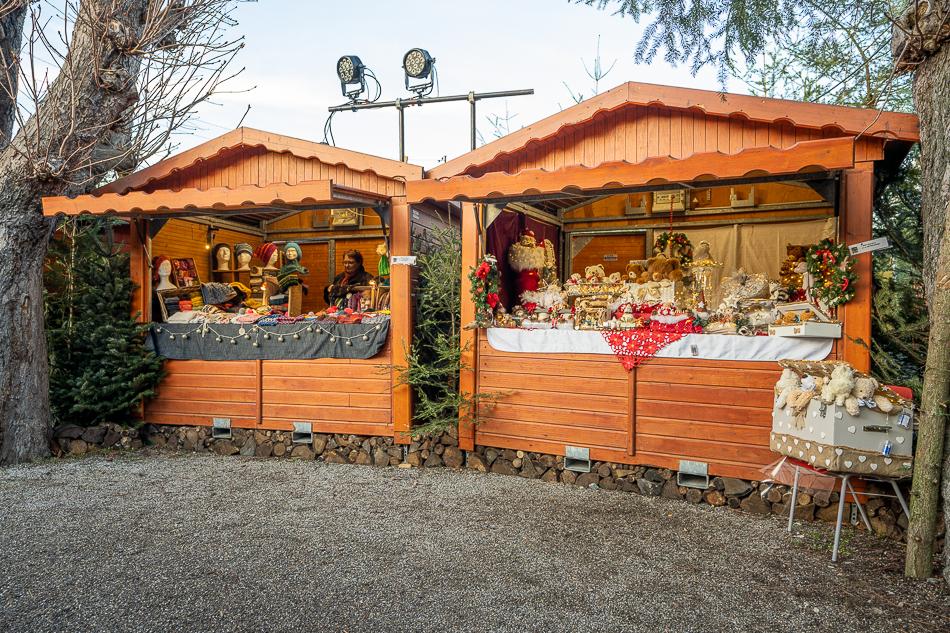 Pfastatt Christmas Market stalls