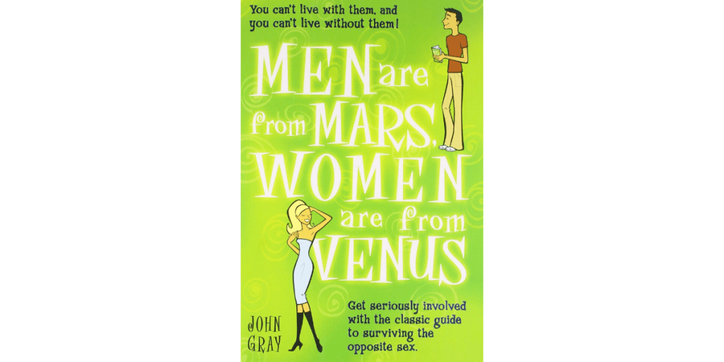 Men Are From Mars, Women Are From Venus book Summary