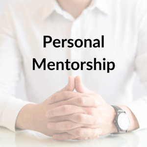 Personal Mentorship Sessions