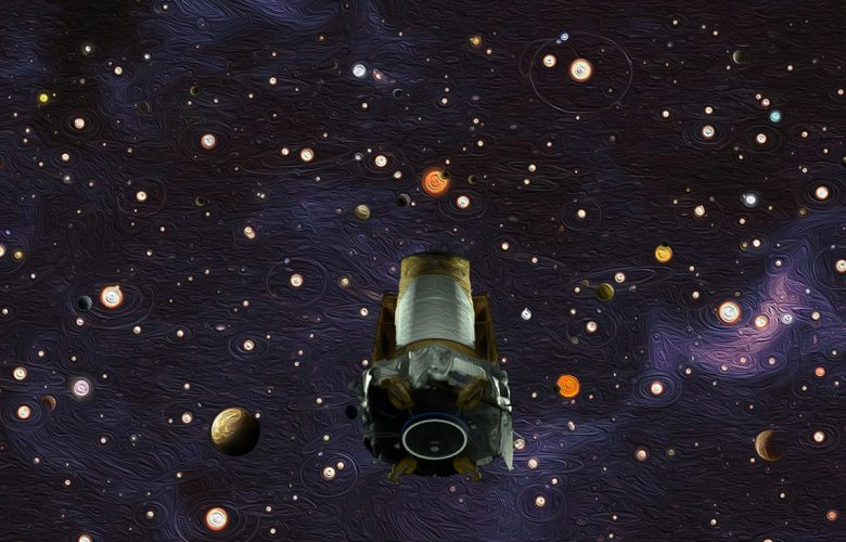 NASA's Kepler space telescope, shown in this artist's concept, revealed that there are more planets than stars in the Milky Way galaxy. Image credit: NASA