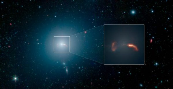 Strange Objects Orbit the Supermassive Black Hole at the ...