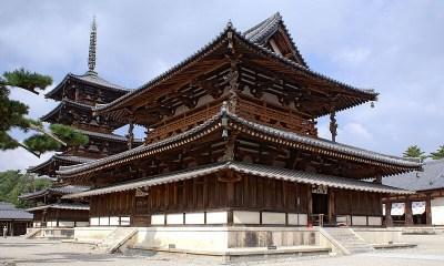 Este edificio de madera en Japón es el más antiguo del mundo y tiene casi de 1 500 años