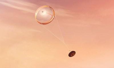 El paracaídas de Perseverance llevaba a Marte un mensaje oculto en lenguaje Python que han desvelado en Twitter