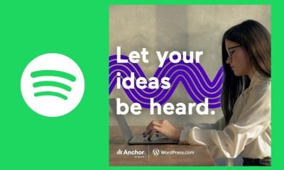 Spotify se une a WordPress para facilitar la conversión de posts escritos en capítulos de podcast