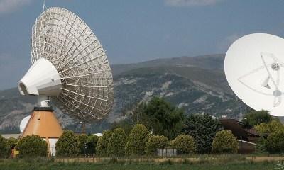 El centro de control de satélites civil más grande del mundo está ubicado en medio de un lago drenado