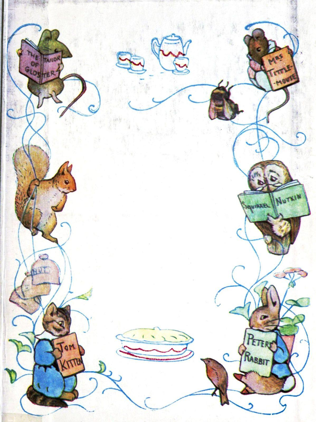 Peter Rabbit Wallpaper Border