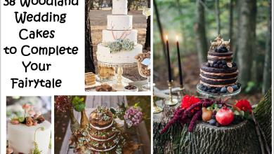Photo of 38 Woodland Wedding Cakes That Will Complete Your Fairytale