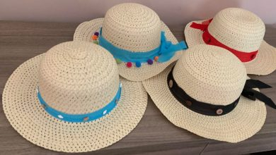 Photo of Making Embellished Sunny Beach Hats with Supplies from Dollar Tree