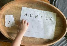 Photo of Free Name Puzzles – Montessori Preschool Resource