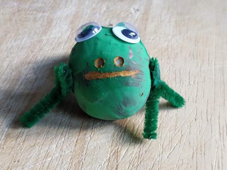 Chestnut animals - a Frog