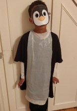 Last-minute-Halloween-costume-quick-and-easy: The-Penguin