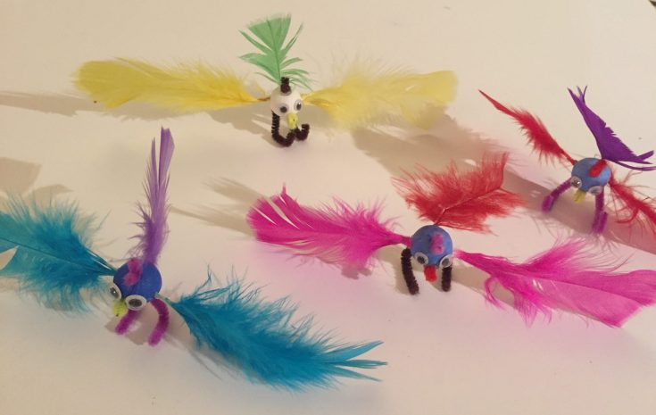 Feathered bird crafts for kids Cute Feathered friends - Feathered bird crafts for kids - super cute feathered friends