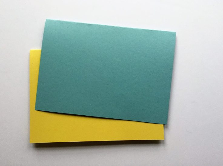 How to make a pop up card - Step 1