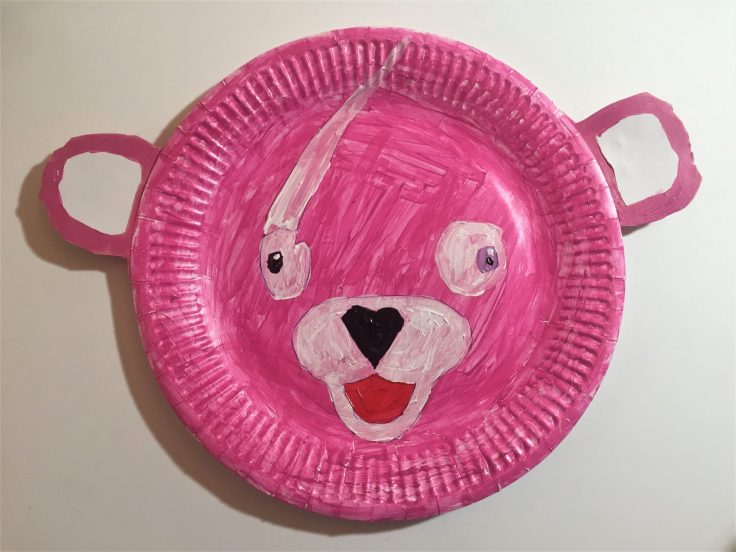 Cuddle Team Leader Paper Plate Craft 2 - Cuddle Team Leader Valentines Card for Kids