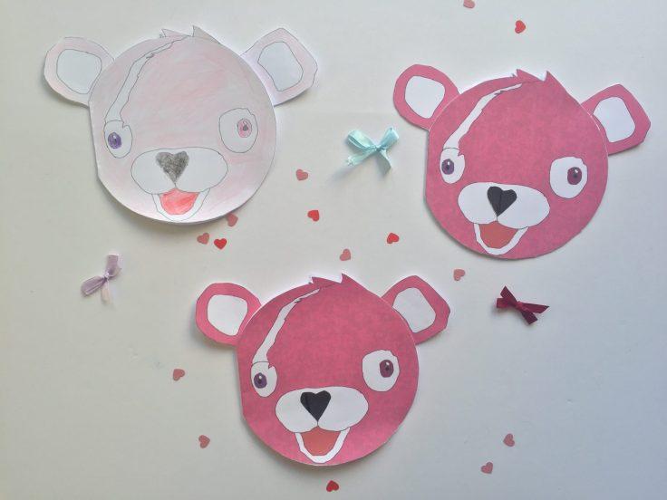 Cuddle Team Leader Valentines card