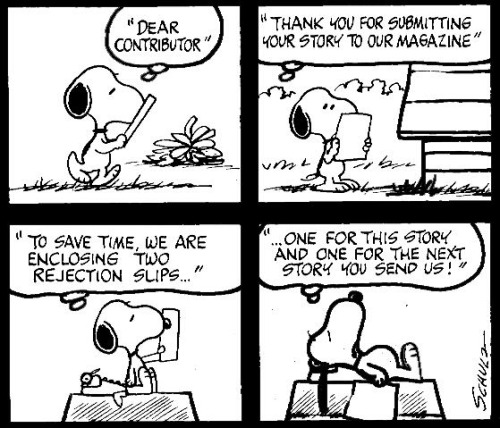 snoopy the writer1