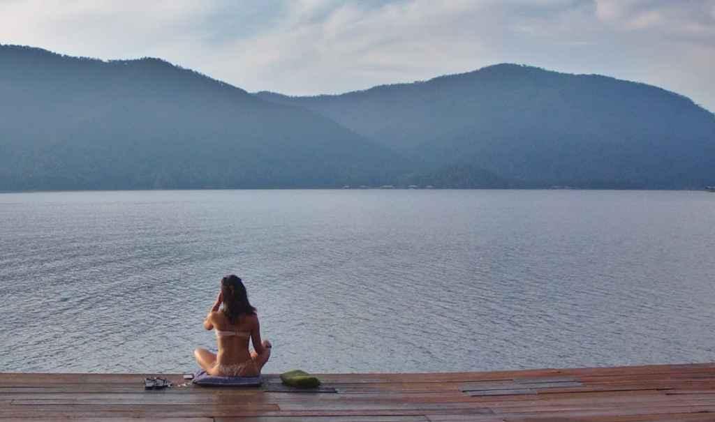 OM water meditation