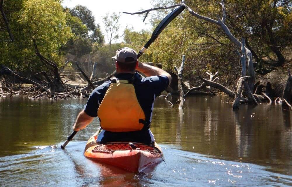 Kayaking Kangaroo Island – Harriet River