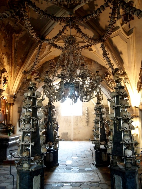 Sedlec Ossuary A Chapel of Bones curiouscatontherun