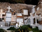 monemvasia greece cemetery