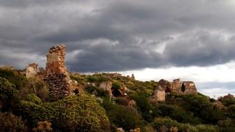 monemvasia fortress ruins