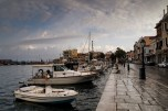 Gythio, waterfront, boats, ocean, port, greece, peloponnese