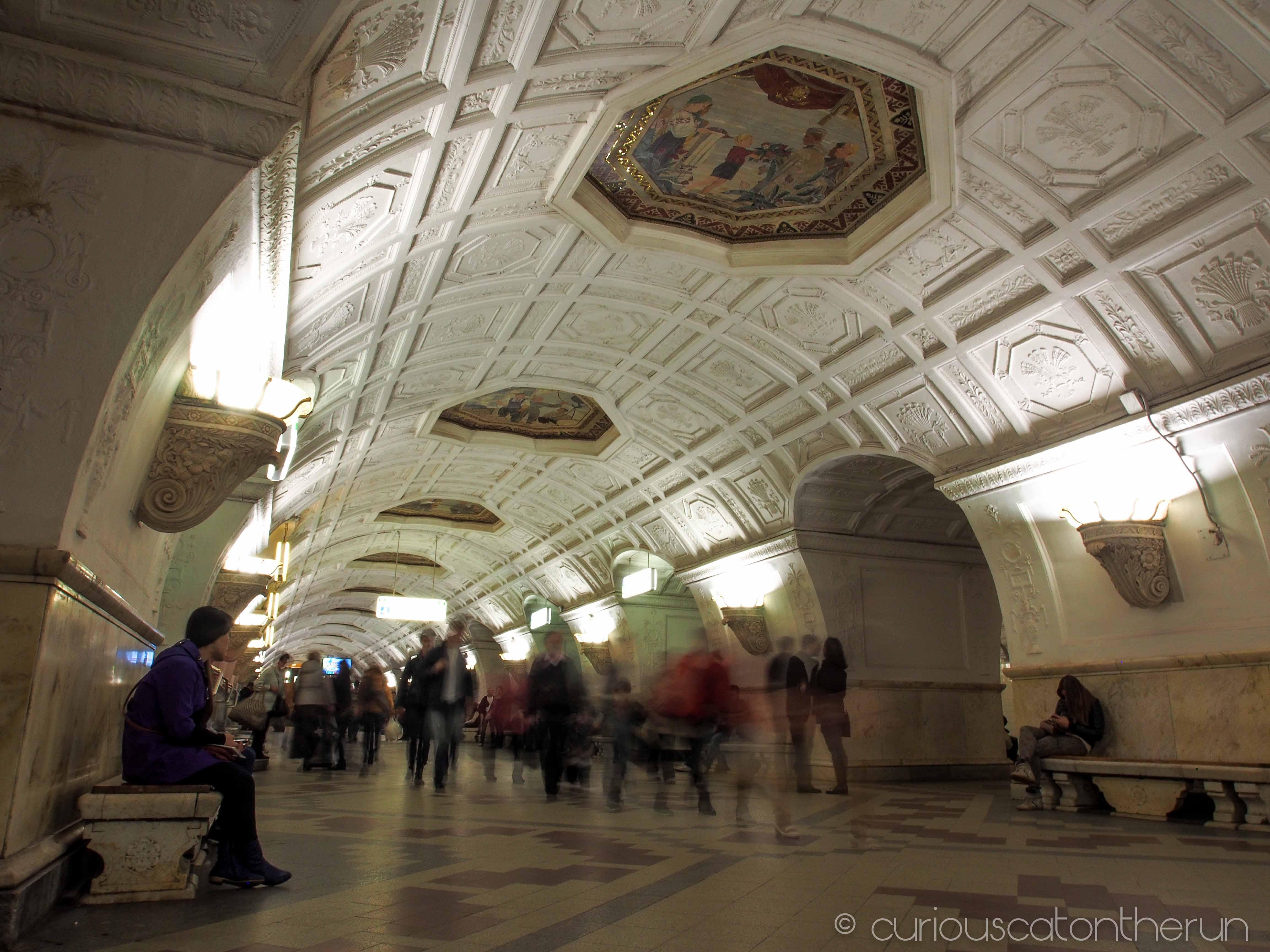 Moscow Metro Part 1 Arbatskaya Belorusskaya