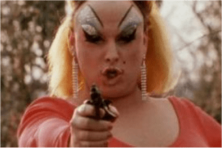 Fig. 14: John Waters, Pink Flamingos, still from movie, USA 1972