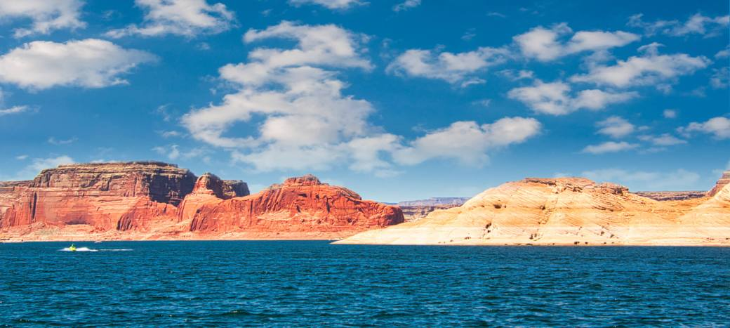 Lake Powell Red, White and Blue