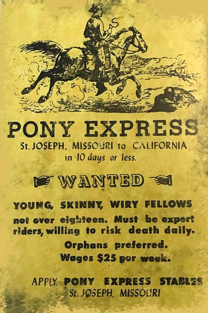 Curious Craig - Pony Express Riders Wanted