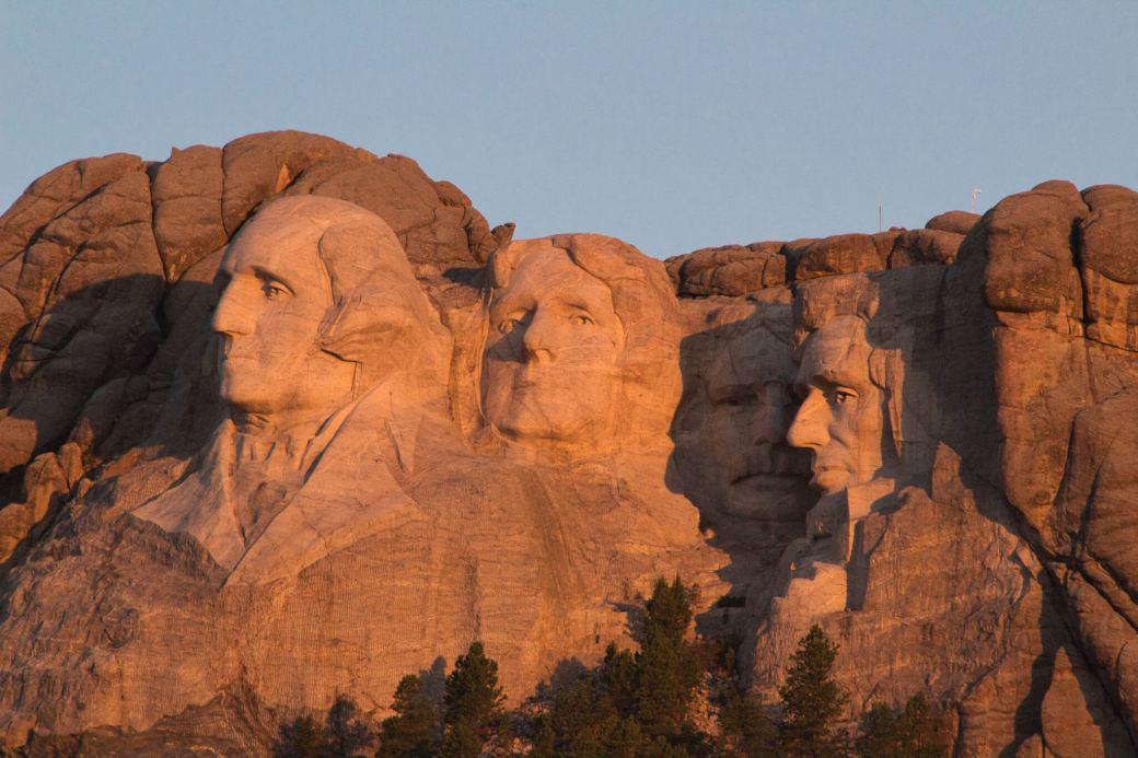 Curious Craig - Mount Rushmore Sunrise