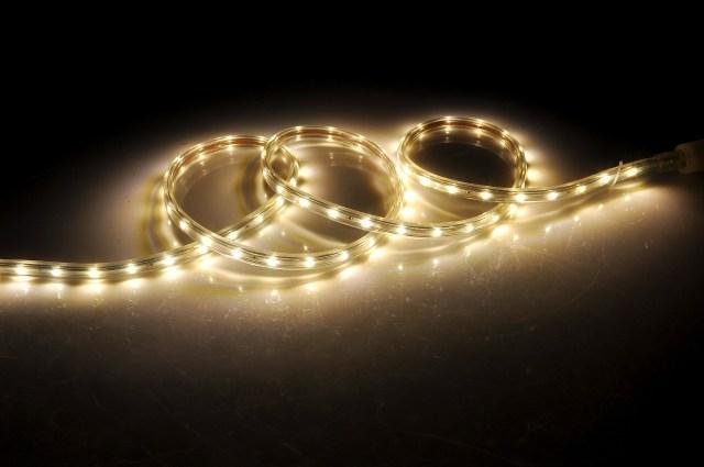 LED strips as grow lights