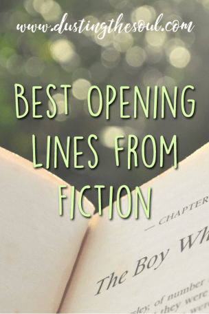 Best Opening Lines from Fiction www.curiousdaydreams.com