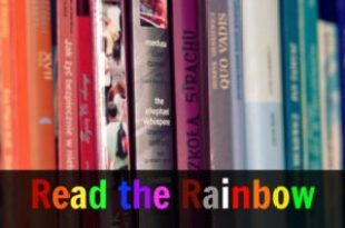 2018 Read the Rainbow Reading Challenge #readtherainbow2018