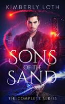 Book cover for Sons of the Sand by Kimberly Loth