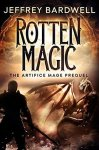 book cover for Rotten Magic