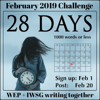 WEP February 2019 challenge button