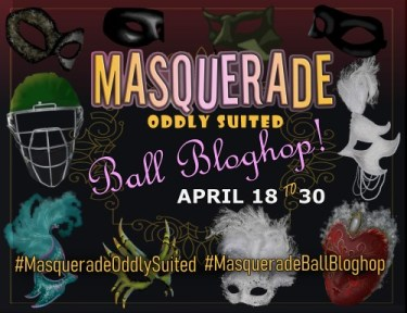 Advert for the Masquerade Ball Bloghop