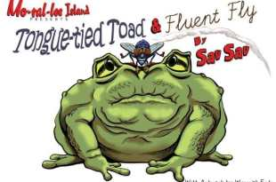 Tongue-tied Toad & Fluent Fly (picture book review)