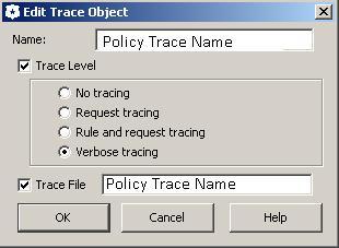 BlueCoat Policy Trace Object