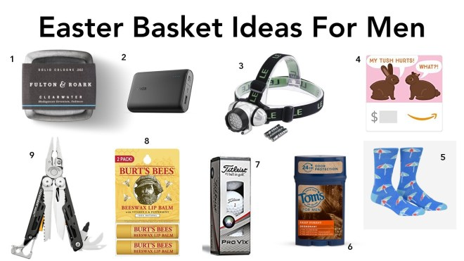 Easter Basket Ideas For Men