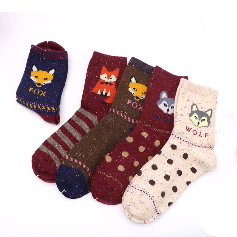 Fox and wolf confetti socks #fashion #socks #hygge #afflink