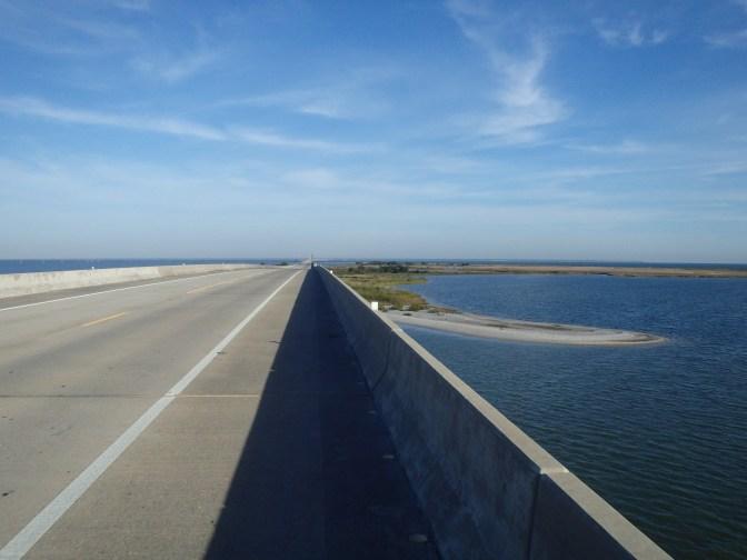 Bridge off Dauphin Island