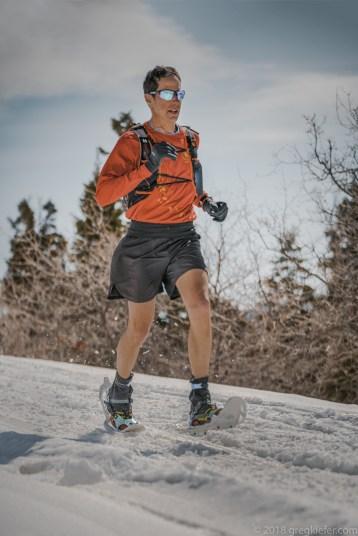 Larry Rosenkranz, snowshoeing in Utah