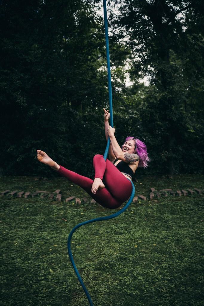 Bailey Freeman - Aerialists of Nashville - Aerial Rope